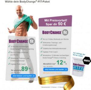 Diät mit Bodychange