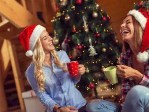 vorweihnachtliches Weihnachtsgeschenk für Frauen